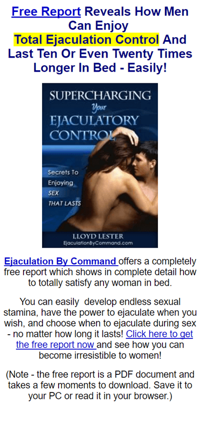 I can t ejaculate during sex